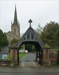 Image for Lych Gate, St Andrew's, Ombersley, Worcestershire, England