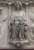 Image for Roman Goddess Minerva and 93 Minerva Asteroid – Leeds, UK