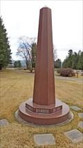 Image for Sutherland Family Obelisk - Kalispell, Montana