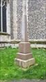 Image for Clarke Obelisk - Wymondham Abbey - Wymondham, Norfolk