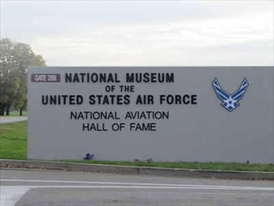 National Aviation Hall of Fame Sign, Dayton, OH