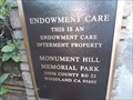 Image for Monument Hill Memorial Park - Yolo County CA