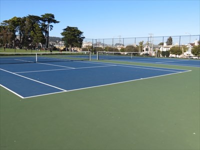Two East Courts, Balboa Park, San Francisco, CA