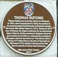 Image for Thomas Rutling, 97 Valley Drive, Harrogate, N Yorks