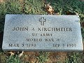 Image for 100 - John A. Kirchmeier - Fairlawn Cemetery - OKC, OK