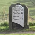 Image for A914 Milestone - Dairsie, Fife.