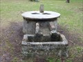Image for Kingsley Plantation Low Stone Well Horse Trough - Jacksonville, FL