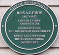 Image for Rosa Lewis - Jermyn Street, London, UK