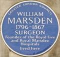 Image for William Marsden - Lincoln's Inn Fields, London, UK