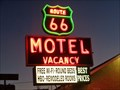 Image for Historic Route 66 - Route 66 Motel - Barstow, California, USA.