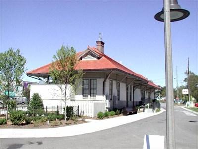 Woodstock Train Depot Woodstock Ga Train Stations Depots On