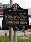 Image for Nickajack Gap - GHM 023-2 - Catoosa Co., GA