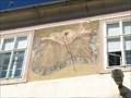 Image for Slunecní hodiny na fasáde zámku - Jinonice, Praha, CZ