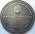 Image for Mary Wollstonecraft - Mare Street, London, UK