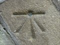 Image for Cut Mark And Rivet On Mill Bridge Over Eller Beck - Skipton UK