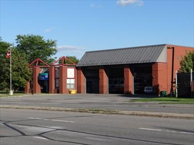 fire station, 3 bays