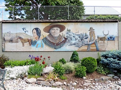 Visitor Centre Mural