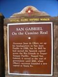 Image for San Gabriel Historic Marker