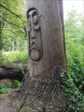 Image for Arbre sculpté, Moai, Bois de Vincennes, Paris