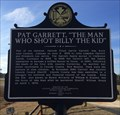 "Image for Pat Garrett, ""The Man Who Shot Billy the Kid"" - Cusseta, AL"