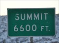 Image for Interstate 15 Southbound - Cove Fort South Summit, 6600 feet