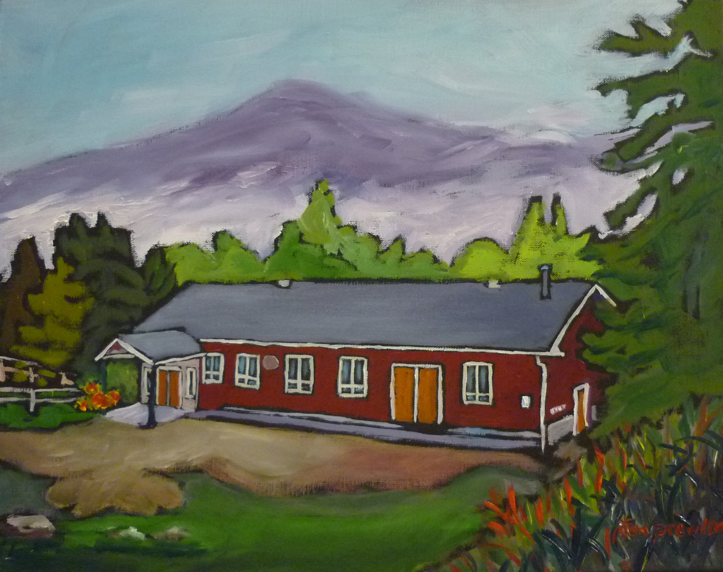 Seventh-day Adventist Church - Nelson, BC by Tea Preville