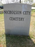 Image for Nicholson City Cemetery - GA