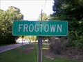 Image for Frogtown Community Sign - Robbins,NC