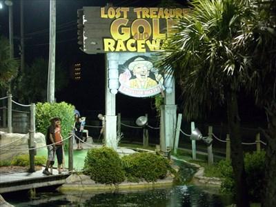 Professor Hacker S Lost Treasure Golf Raceway Salter Path Nc Miniature On Waymarking