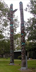 Image for Camp Samac Totem Poles ~ Oshawa, Ontario  CANADA