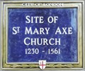 Image for St Mary Axe Church - St Mary Axe, London, UK