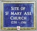 Image for St Mary Axe Church - St Mary Axe, London, UK