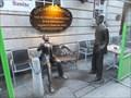 Image for Gogarty and Joyce - Anglesea Street, Dublin, Ireland