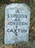 Image for Milestone - A1198 Ermine Way, Arrington, Cambridgeshire, UK.