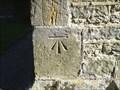Image for Cut bench mark St. Bartholomew's Church, Burwash, East Sussex