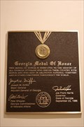Image for Georgia Medal of Honor -- GA State Capitol, Atlanta GA