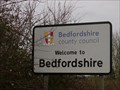 Image for Bedfordshire County Boundary - UK