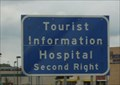 Image for Tourist Information Hospital -- US 2 nr Dakota Square Mall, Minot ND