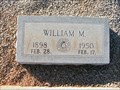 Image for William M. Talbert - Buffalo Baptist Cemetery, McCormick, SC
