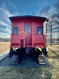 Image for Conrail N-5G Caboose 18624 - Wickford Junction - North Kingstown, Rhode Island