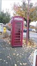 Image for Red Telefonebox in Bad Hönningen - RLP - Germany