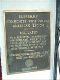 Image for American Legion Elsberry Community Post No. 226 Veterans Memorial - Elsberry, Missouri