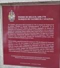 Image for Plaque de Pierre de Rigaud - Vaudreuil-Dorion, Québec