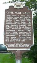 Image for Civil War Camp Historical Marker