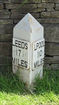 Image for Leeds Liverpool Canal milestone – Micklethwaite, UK