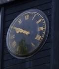 Image for Saville Court Clock, Hoyland Common,Barnsley, UK.