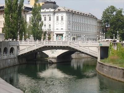 Treomostovje - Triple Bridge - Ljubljana Slovenia