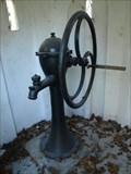 Image for hand pump /rucní pumpa v Karlachových sadech, Vyšehrad, Praha, Czech republic