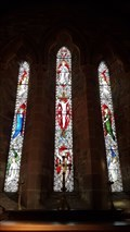Image for Stained Glass Windows - St John the Baptist - Wappenbury, Warwickshire