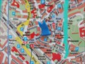 Image for Stadtplan (Citymap), An der Stadtmauer, Siegburg - NRW / Germany